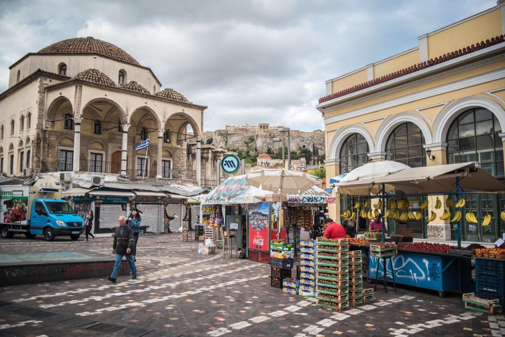 Atény, Monasteriki, Řecko, antika, architekrura