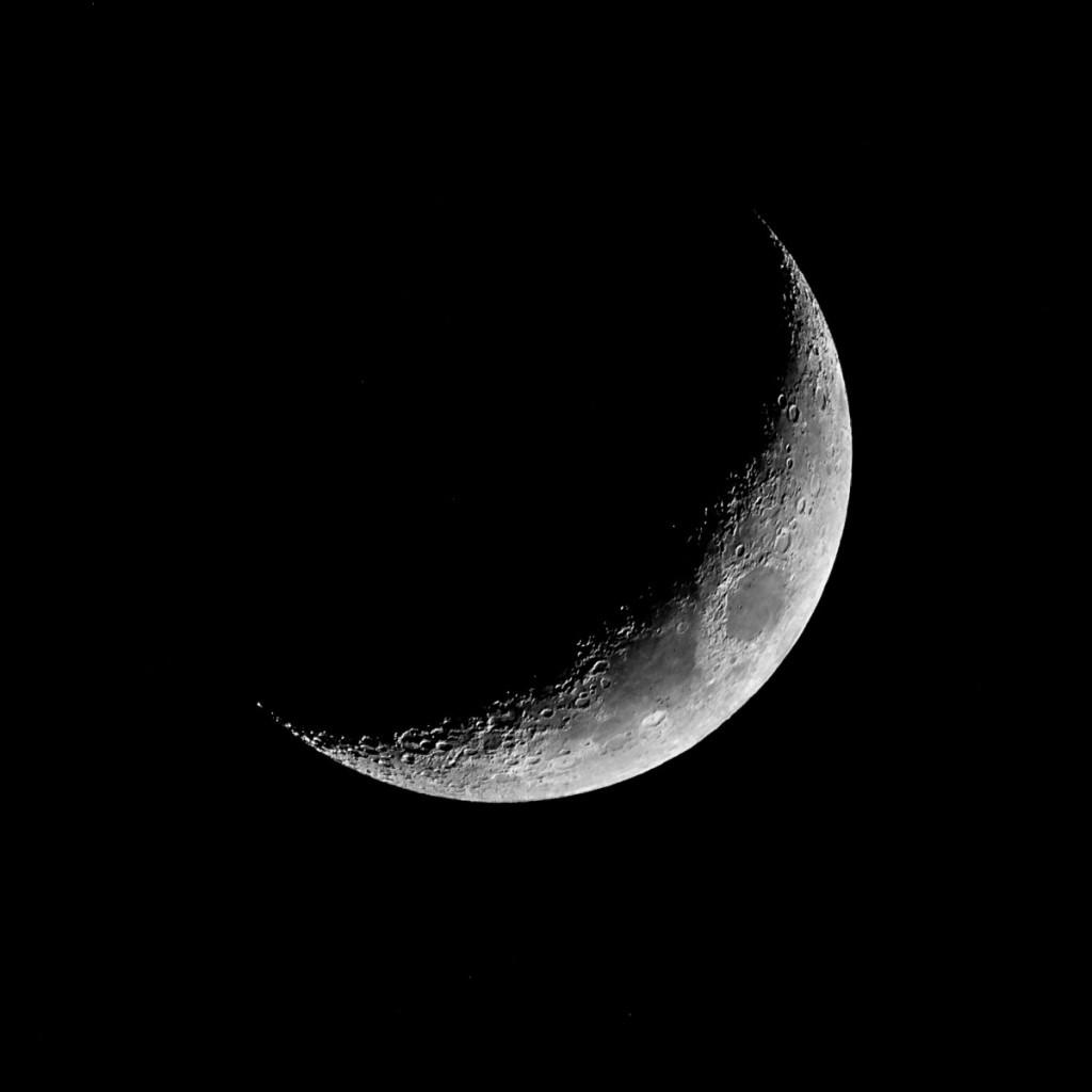 Měsíc, Nikkor 200-500mm f5,6 VR AF-S G ED