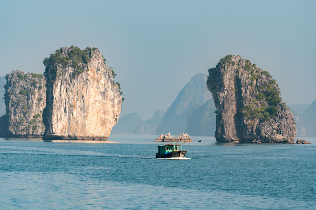 Ha Long Bay, Nikkor 200-500mm f5,6 VR AF-S G ED