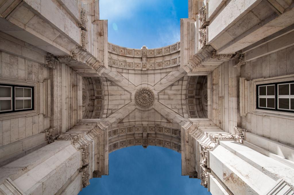 Lisabon, Lisbon, Arco da Rua Augusta,Portugal, Portugalsko, město, architektura