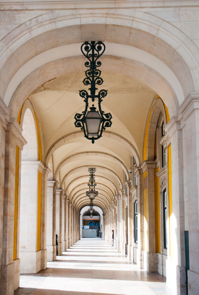 Lisabon, Lisbon, Arco da Rua Augusta, Portugal, Portugalsko, město, architektura