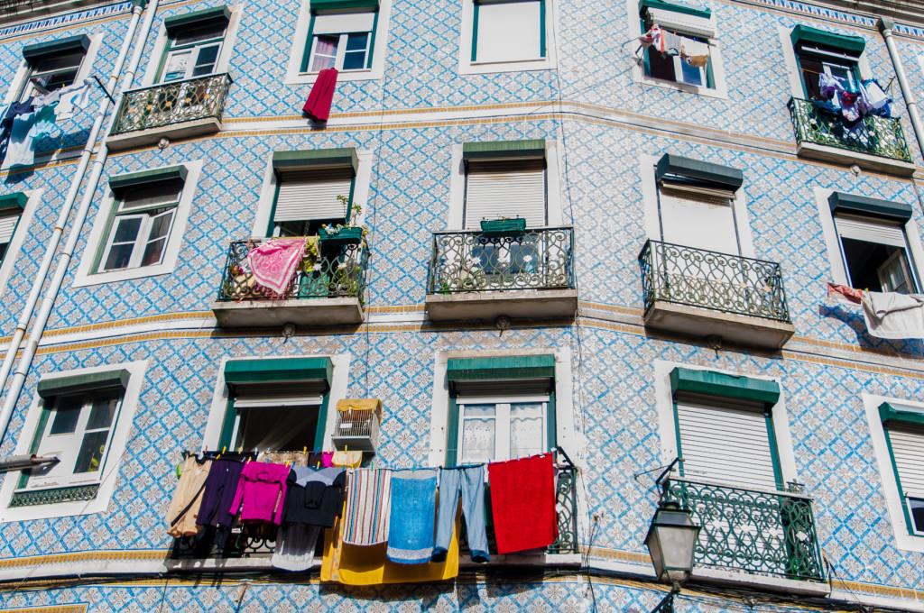 Lisabon, Lisbon, Portugal, Portugalsko, město, architektura