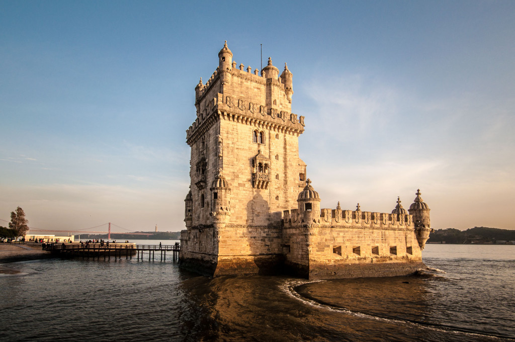 Lisabon, Lisbon, Portugal, Portugalsko, město, architektura, Belem, tower