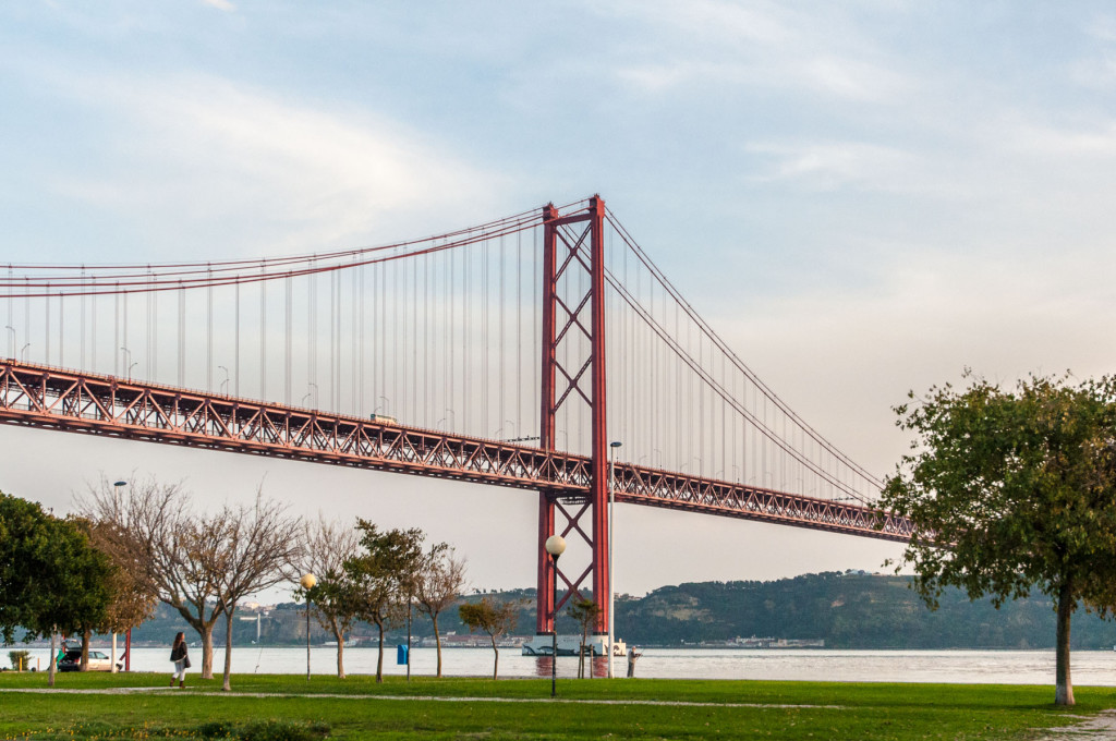 Lisabon, Lisbon, Portugal, Portugalsko, město, architektura, chaionbridge, bridge