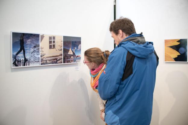 vernisáž, výstava, příprava