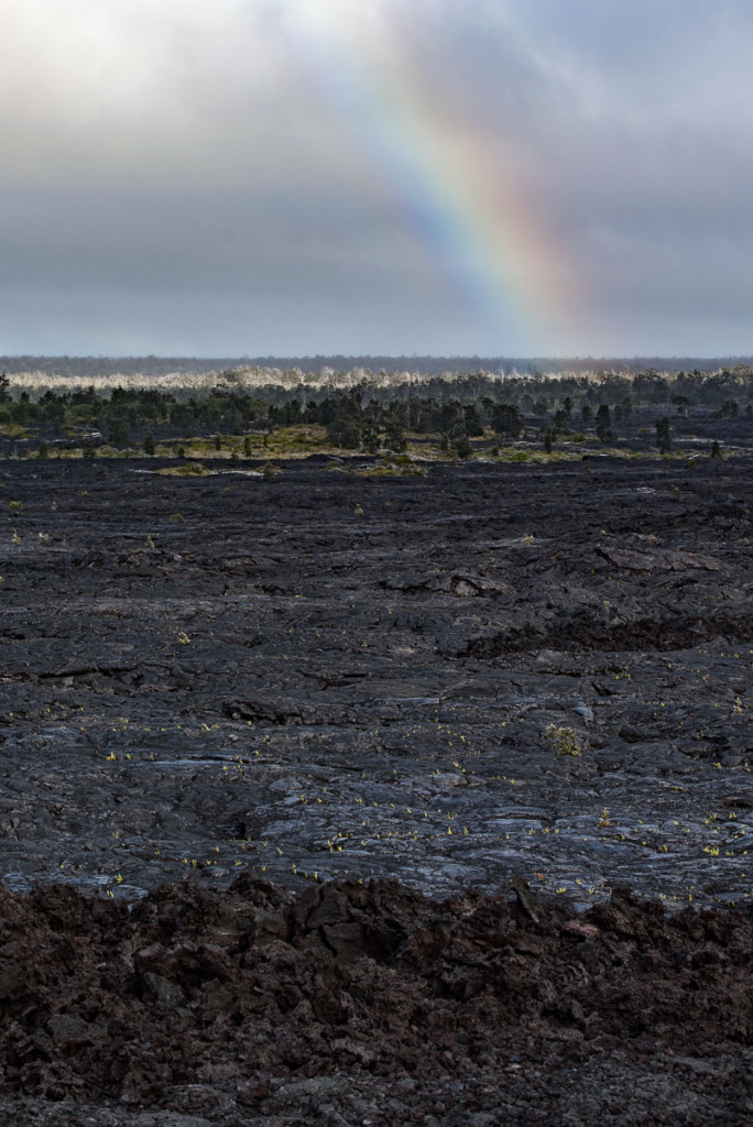 Lava flow, Big Island, Hawaii,  Puʻu ʻŌʻō