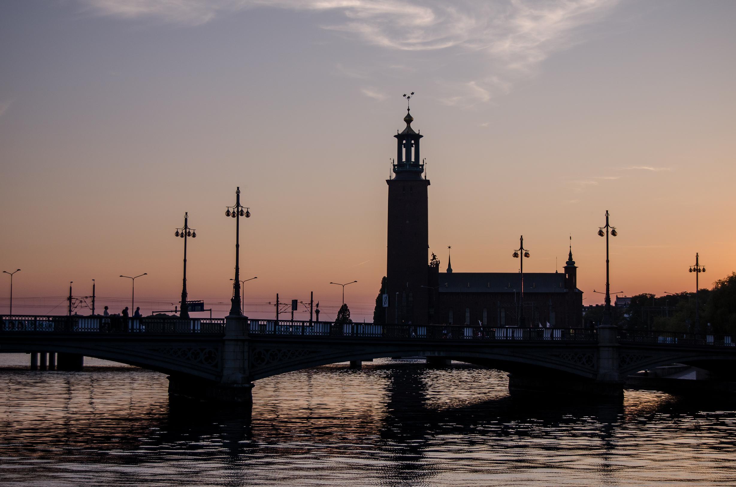 Kam ve Stockholmu?