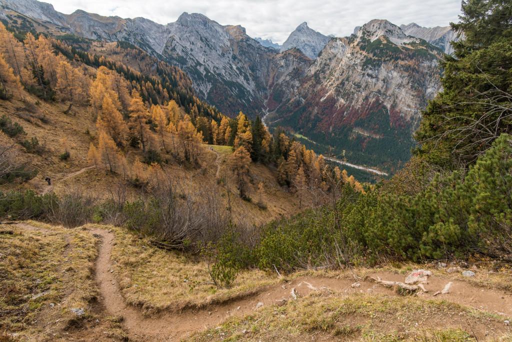 podzimní Achensee