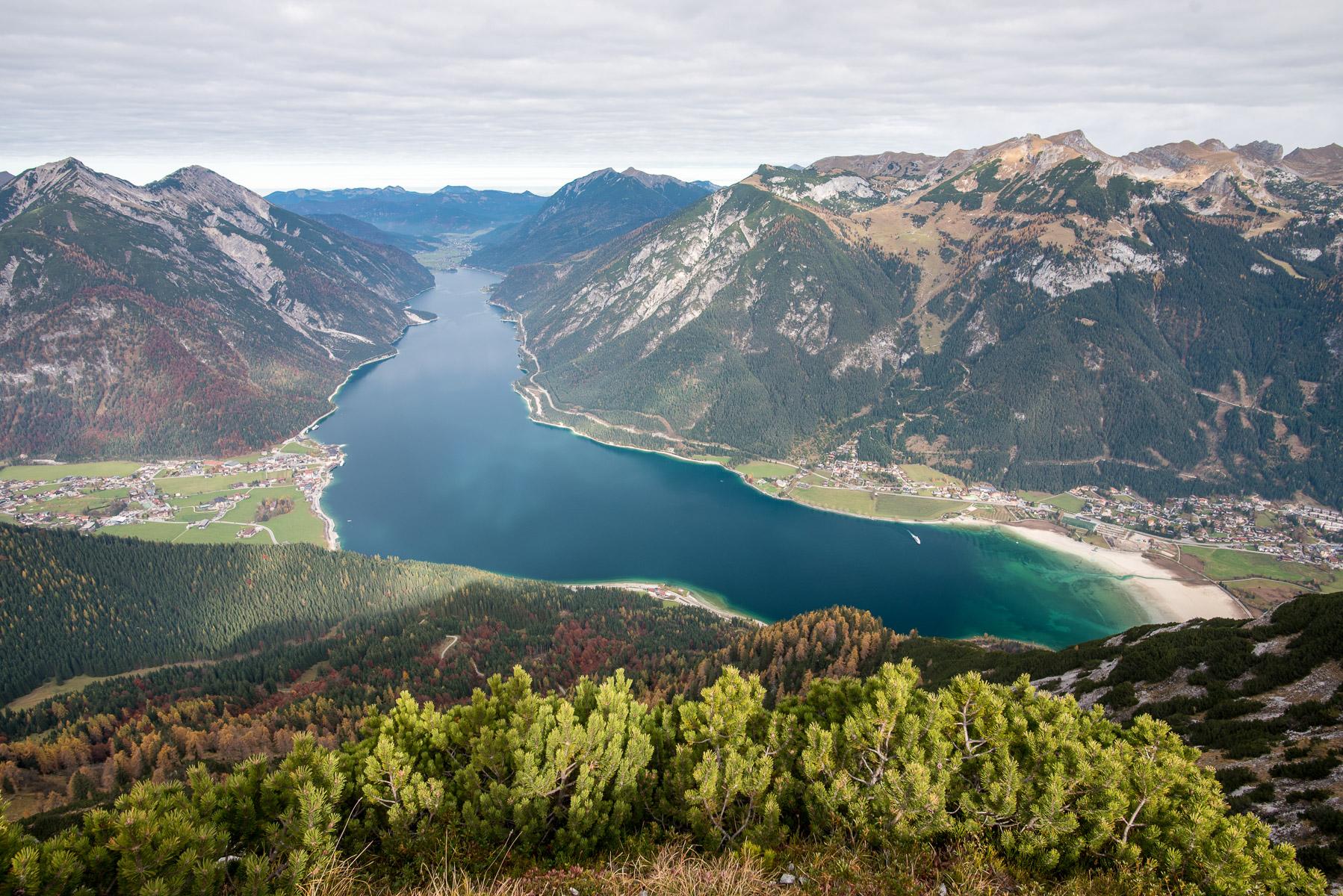 Achensee – tip na výlet vRakousku