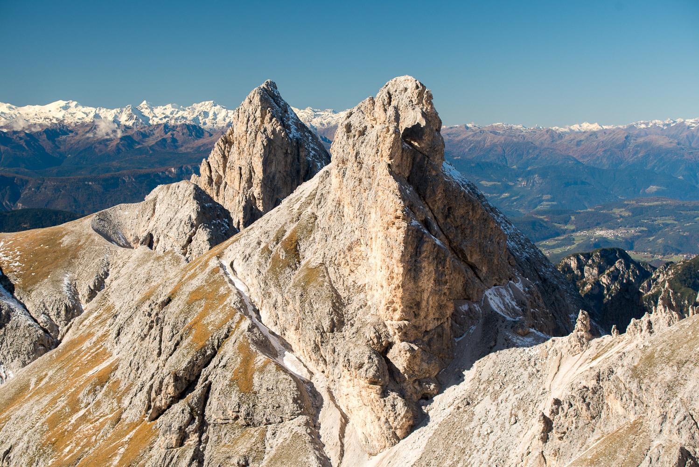 Podzimní Dolomity – Val Vajolet (Trentino)