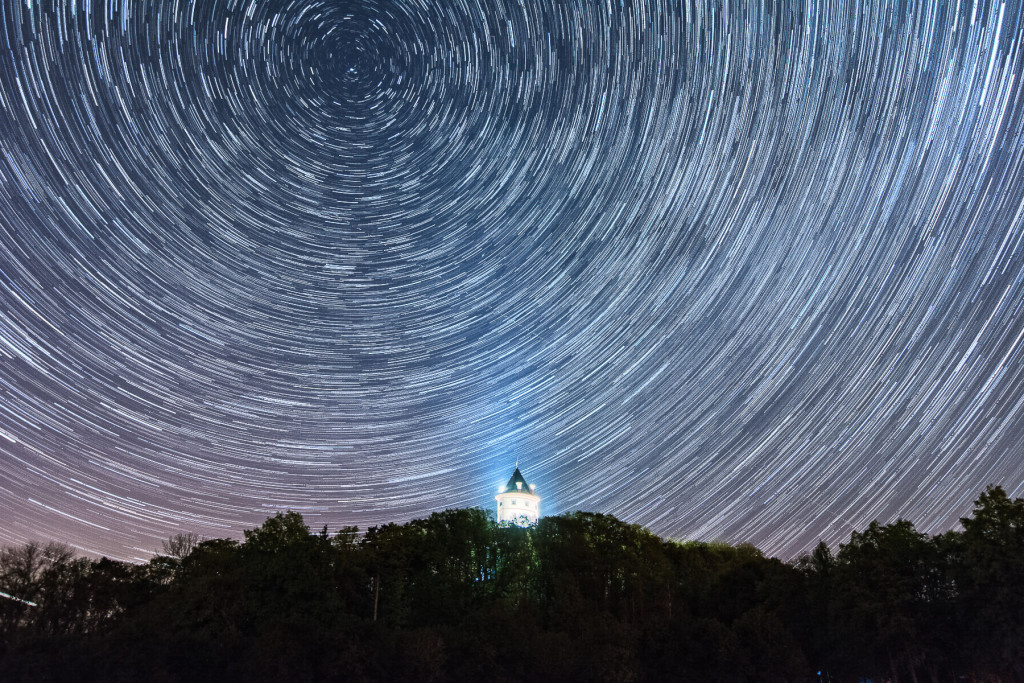 Humprecht a startrails