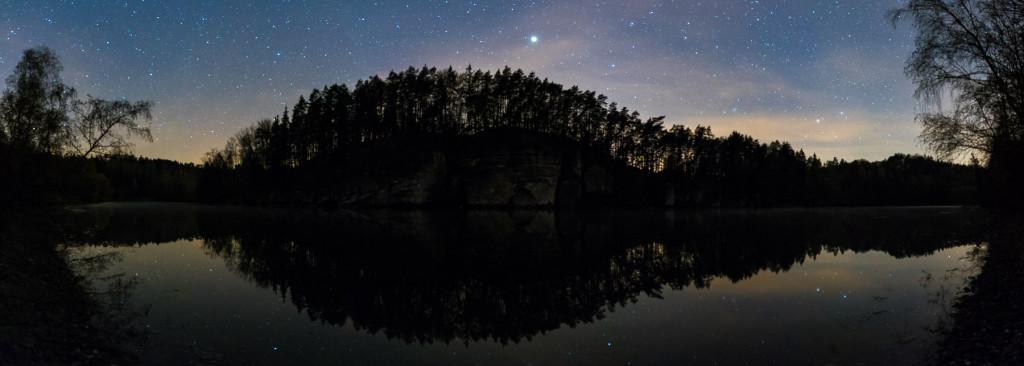Krkčák v noci