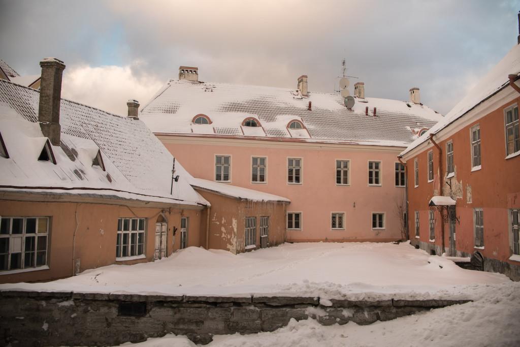 zima v Tallinnu