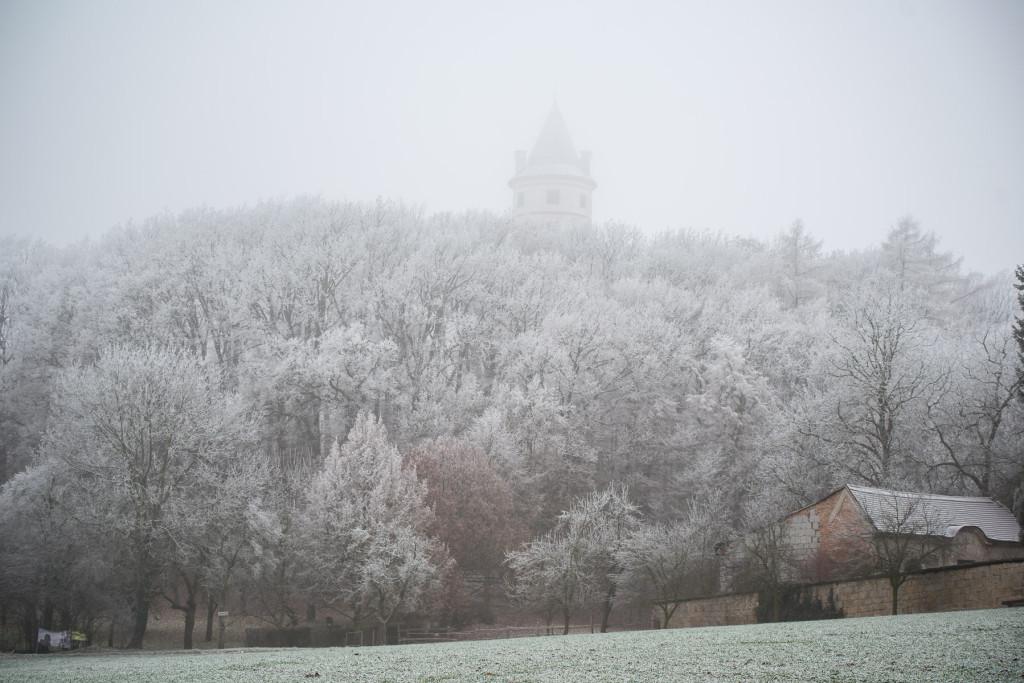 Zimní Český ráj s námrazou - Humprecht