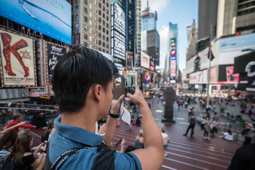 Times Square...mi moc fotogenické nepřišlo
