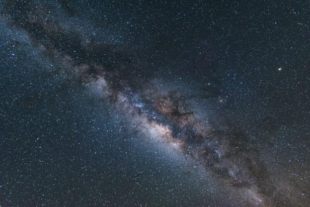 noční nebe, Havaj