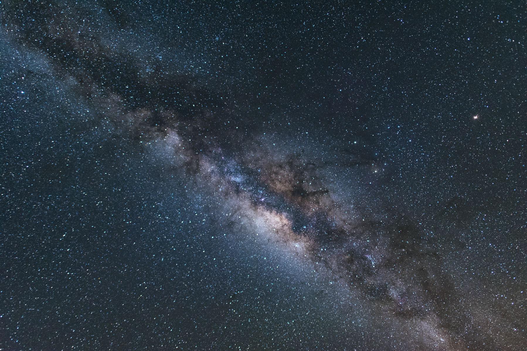 Focení na Havaji (díl 6): noční nebe a mléčná dráha jak lampion