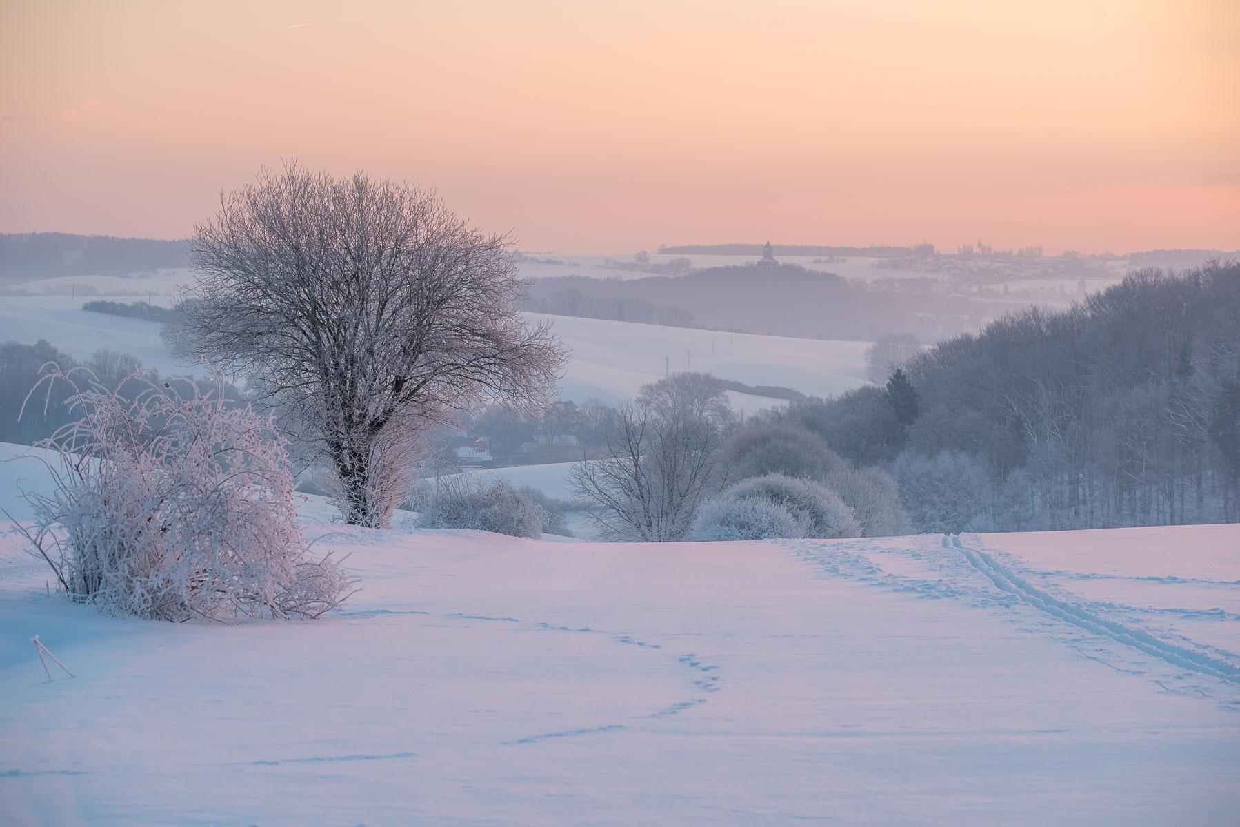Zimní Český ráj a tip na trik v Lightroomu pro zimní krajinu