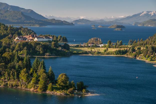Severní Patagonie - pohlednicová vyhlídka Llao Llao