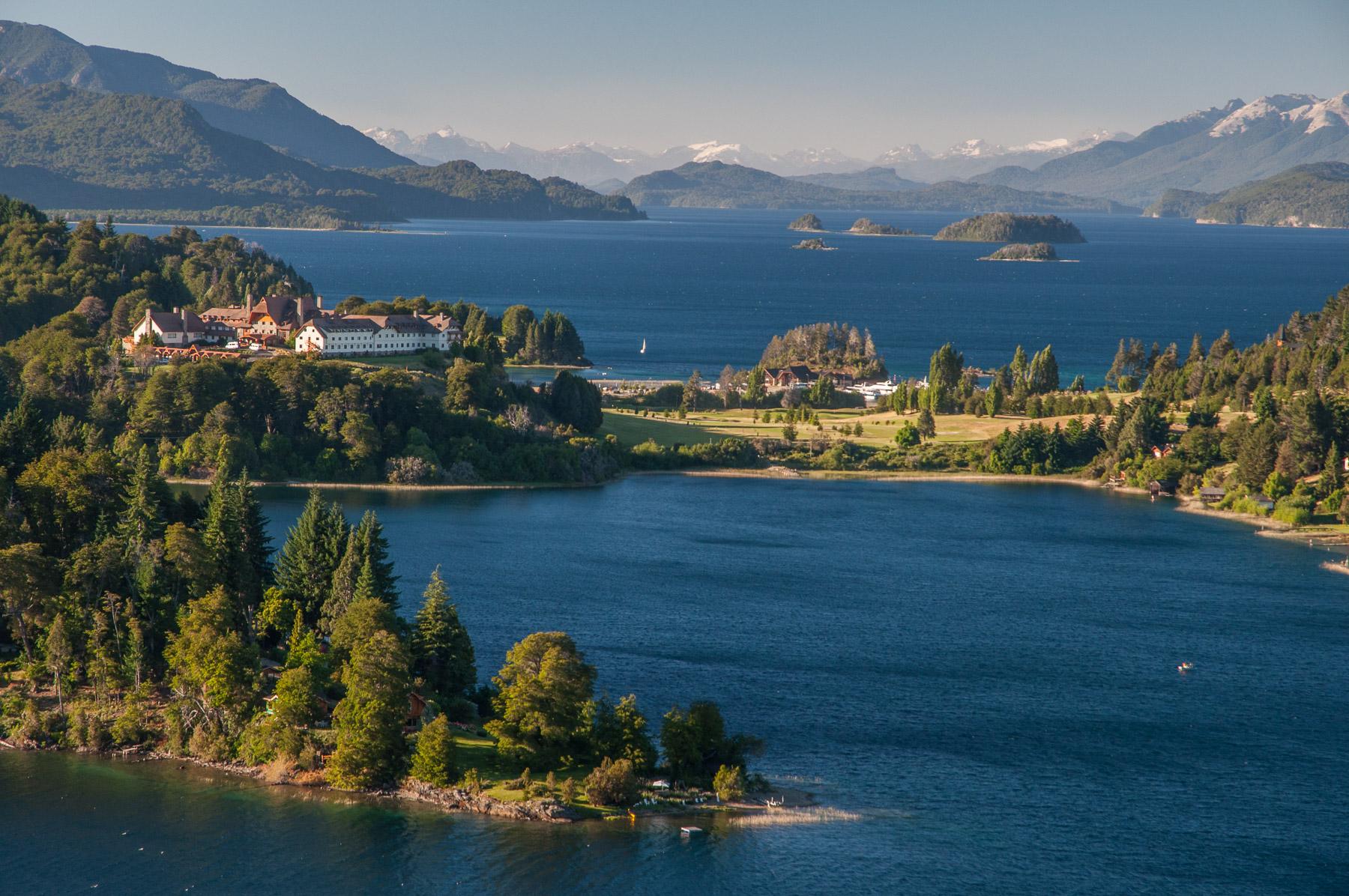 Severní Patagonie: oblast jezer kolem Bariloche