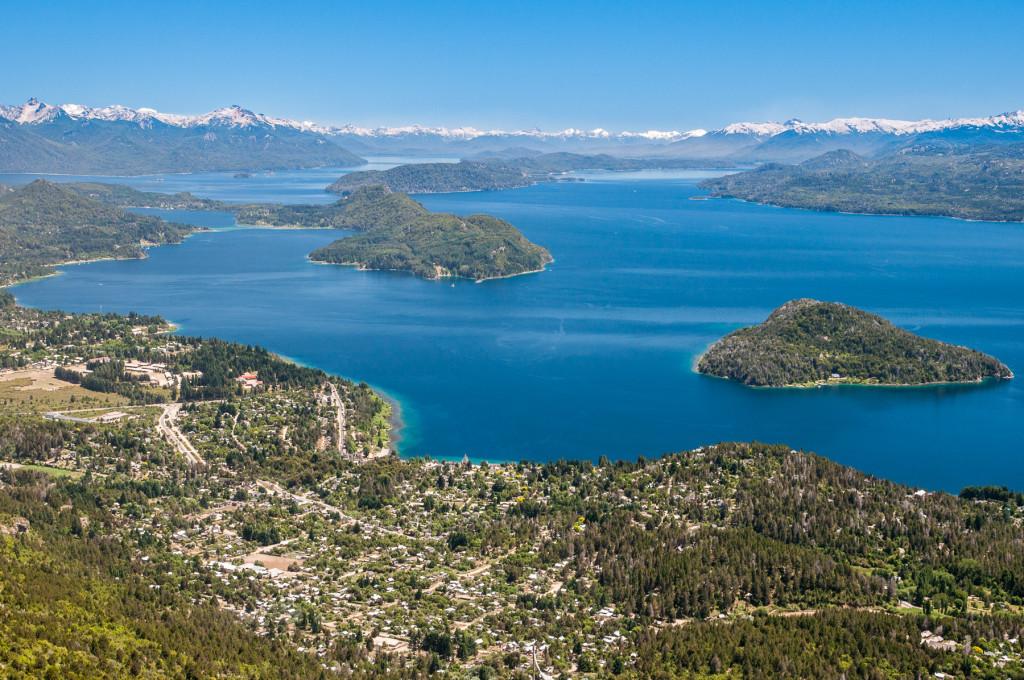 Severní Patagonie u Bariloche - vyhlídka Nahual Huapi