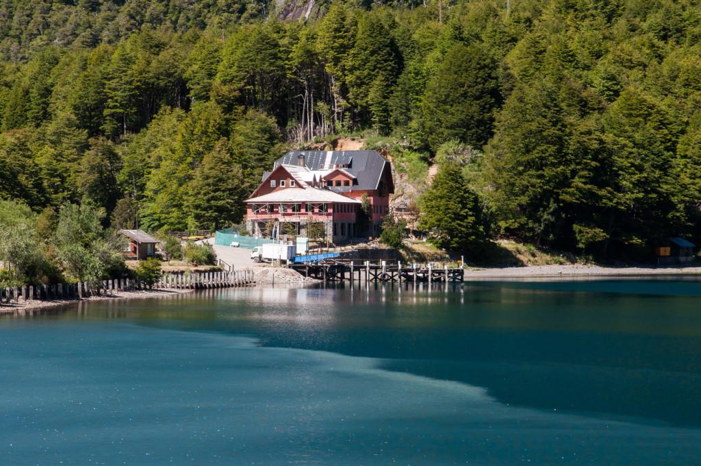 oblast jezer v severní Patagonii