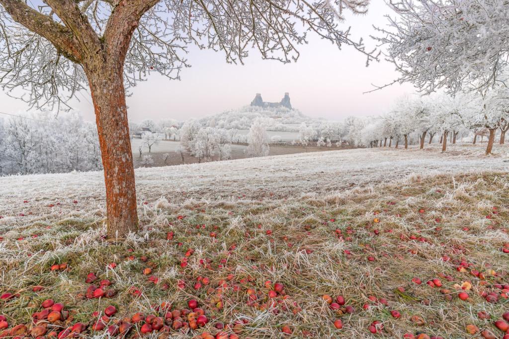 Český ráj v zimě (Trosky)