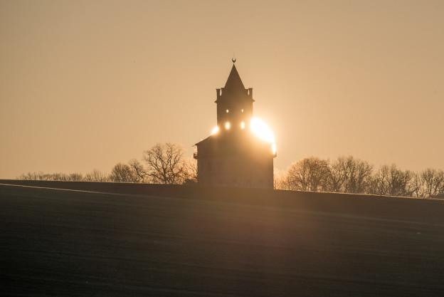 Zatmění slunce za Humprechtem v Českém ráji