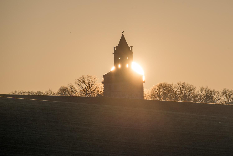 Zatmění slunce nad Humprechtem