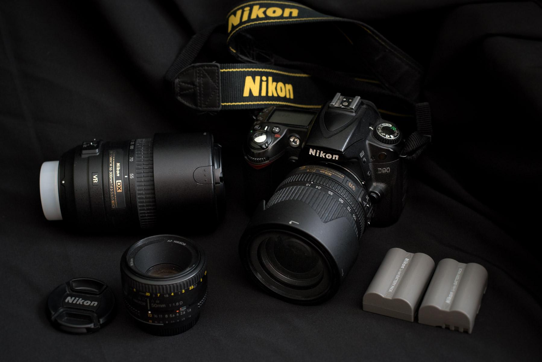 Skvělý set Nikon pro začátečníky i mírně pokročilé na prodej za skvělou cenu (prodáno)