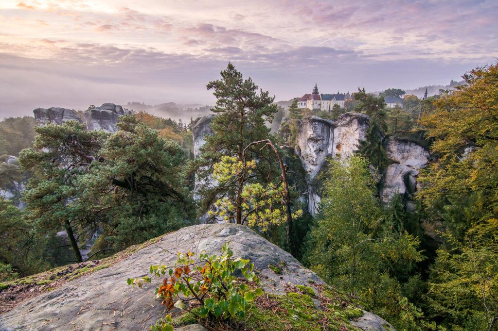 Hrubá Skála (Český raj) na podzim