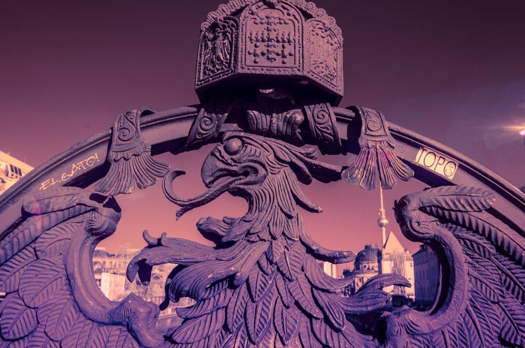 Fotografie Berlína v infračerveném spektru