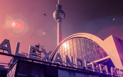 Fotografování v Berlíně v krutých mrazech