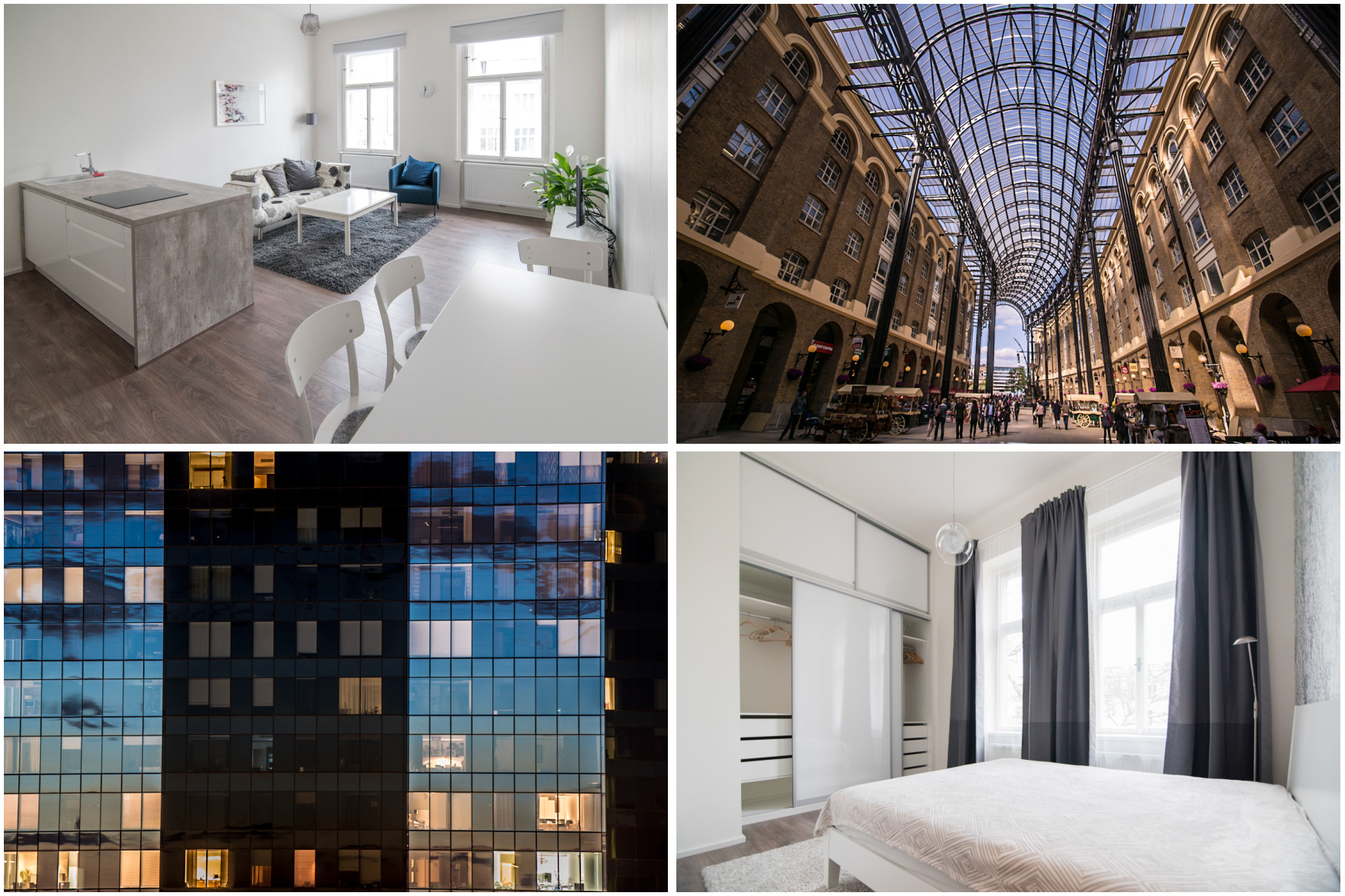 Interiéry a exteriéry nemovitostí