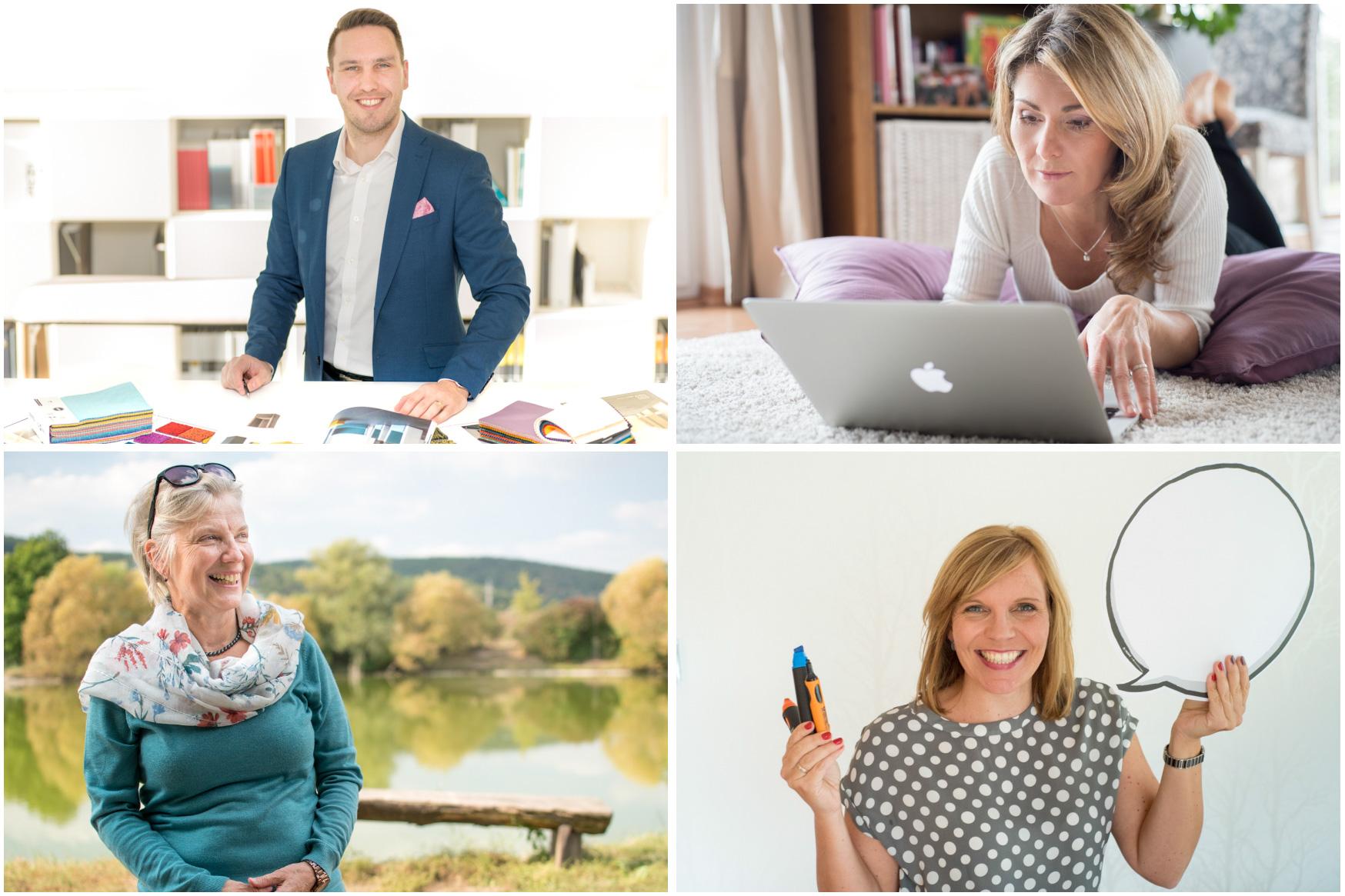 Portréty na web nebo blog