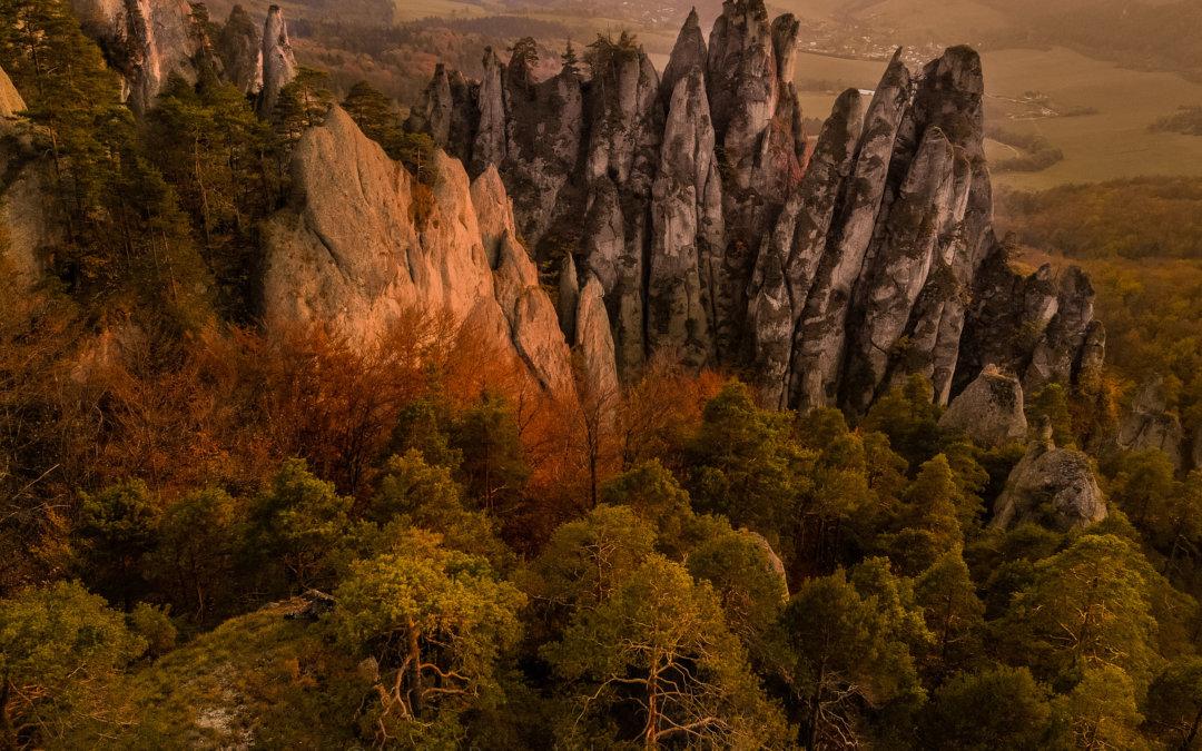 Fotografování podzimních Súľovských skal – ráj pro krajináře