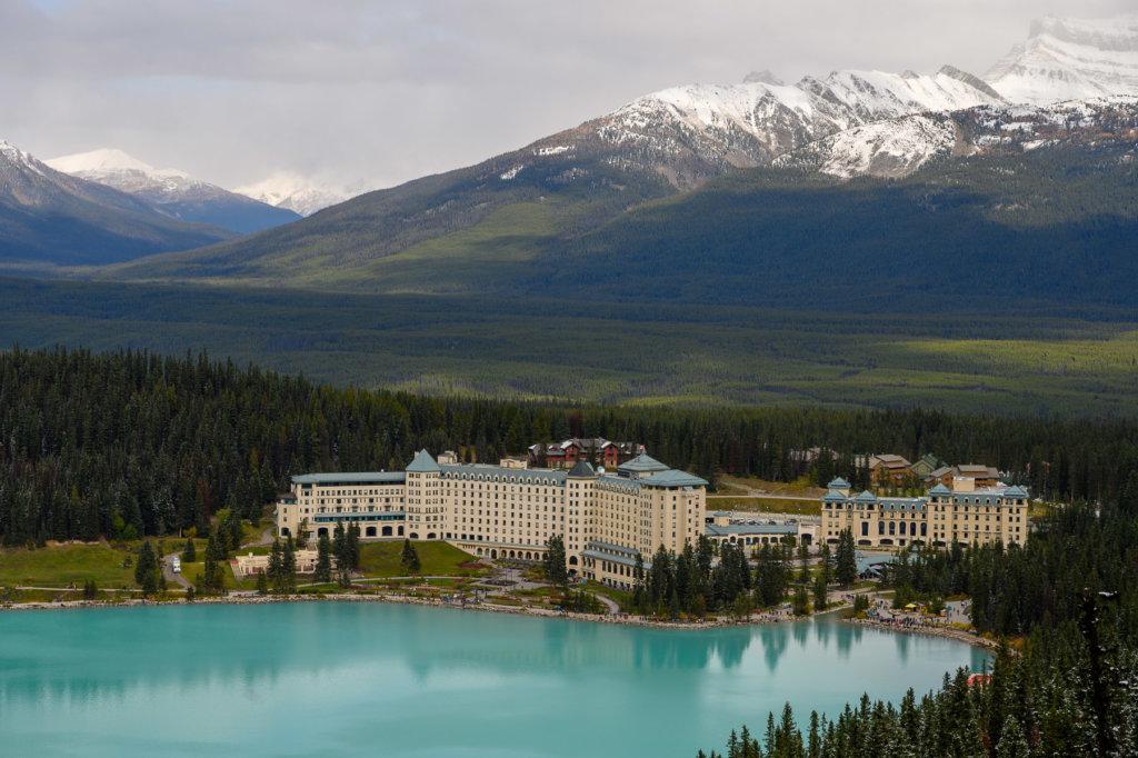 Kanadské Rocky Mountains: národní park Banff