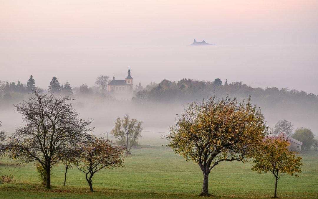Podzim 2019 vČeském ráji: když inverze končí tam, kde má