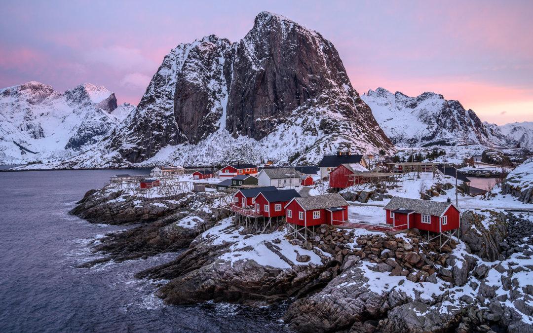 Zimní Lofoty: za sněhem za polární kruh