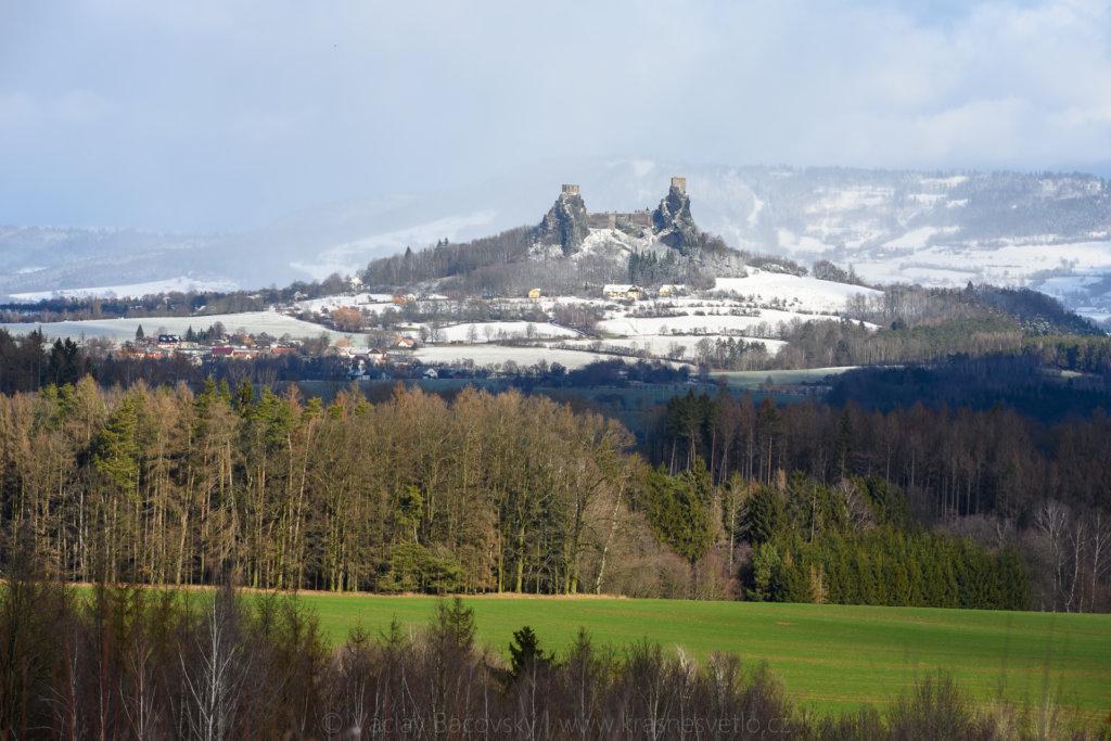 jaro nebo zima?trosky a Kozákov v Českém ráji