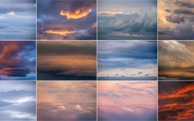 Jak jsem fotil mraky, aneb když rozcuchané nebe nasvítí poslední slunce